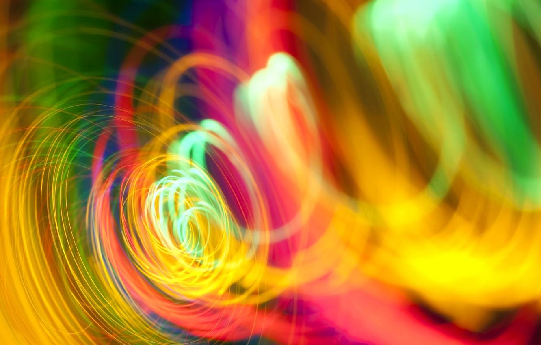 Обои свет, спираль, Цвет. Абстракции foto 18