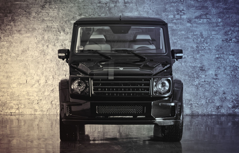 Фото обои Mercedes-Benz, перед, G55, front, g class, gelandewagen