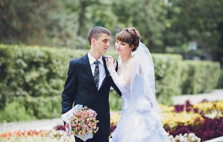 Обои жених, свадебный, цветы. Праздники foto 17