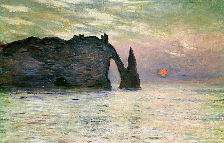 Обои Клод Моне, Пейзаж, картина. Разное foto 16