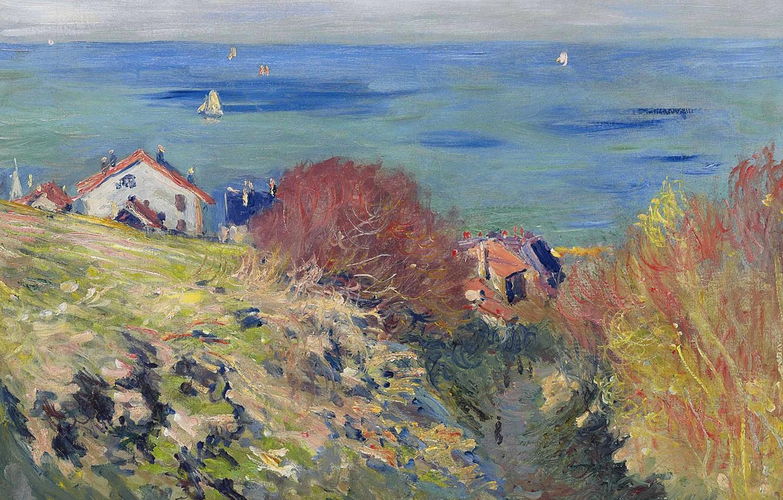 Обои Клод Моне, Пейзаж, картина. Разное foto 6