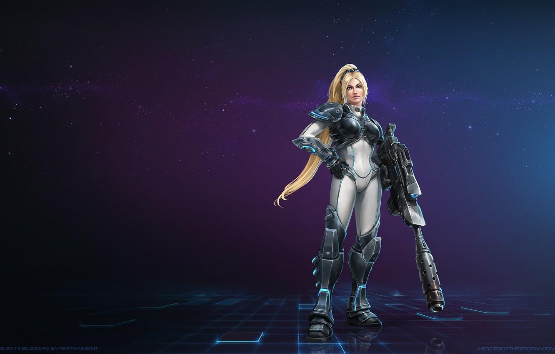 Фото обои blizzard, Нова, StarCraft 2 Heart of the swarm, heroes of the storm