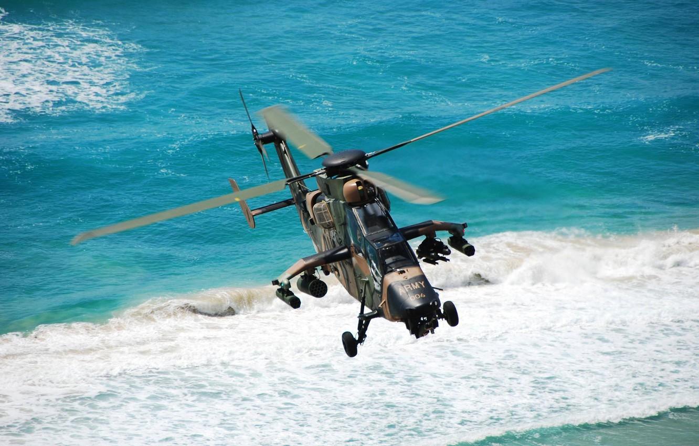 Обои ec 665, ударный, Tiger, Eurocopter. Авиация foto 12