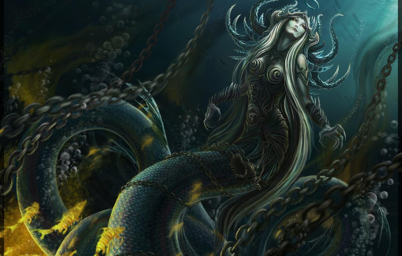 Обои рисунок, картинка, живопись, змей, Фантастика. Разное foto 9
