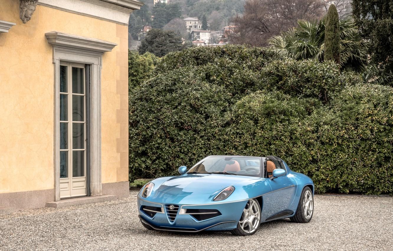 Фото обои Alfa Romeo, Spyder, Альфа Ромео, Disco Volante