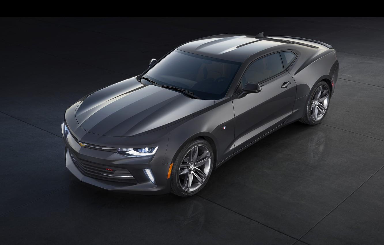 Фото обои Chevrolet, Camaro, шевроле, камаро, 2015