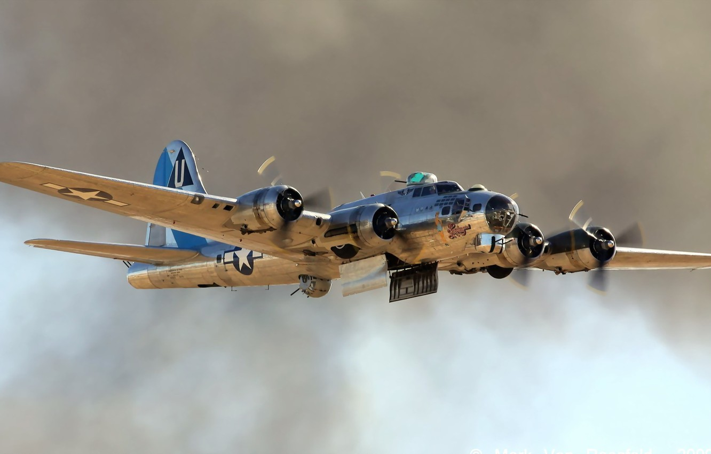 Обои Самолёт, B 17. Авиация foto 9