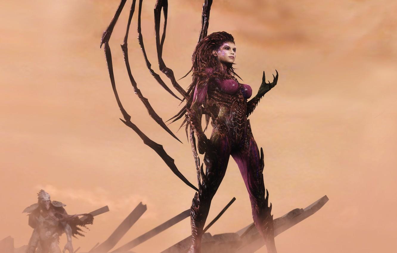 Обои starcraft, queen of blades, Королева Клинков, сара керриган. Игры foto 10