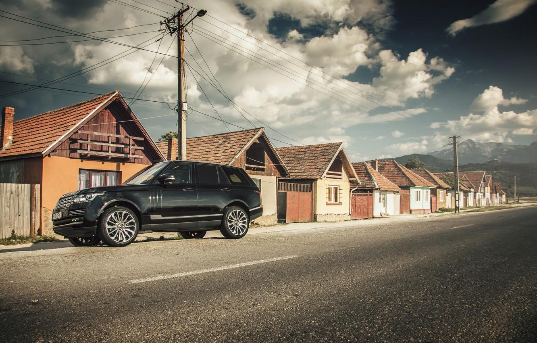 Фото обои дома, Land Rover, Range Rover, Range Rover IV