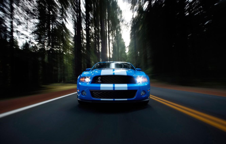 Фото обои дорога, авто, скорость