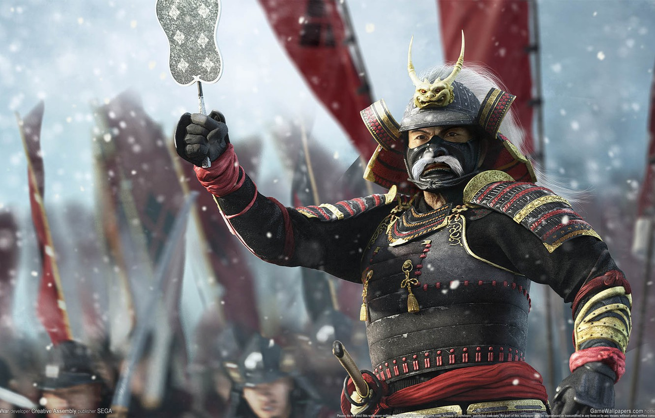 Фото обои япония, wallpaper, game, shogun 2, total war, стратегия