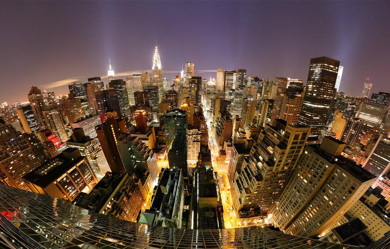 Фото обои Нью-Йорк, Манхеттен, Millennium, Manhattan, New York City, hotel
