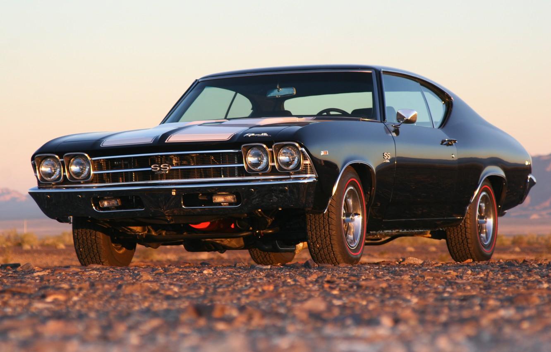 Фото обои Chevrolet, Chevelle, 396, L34