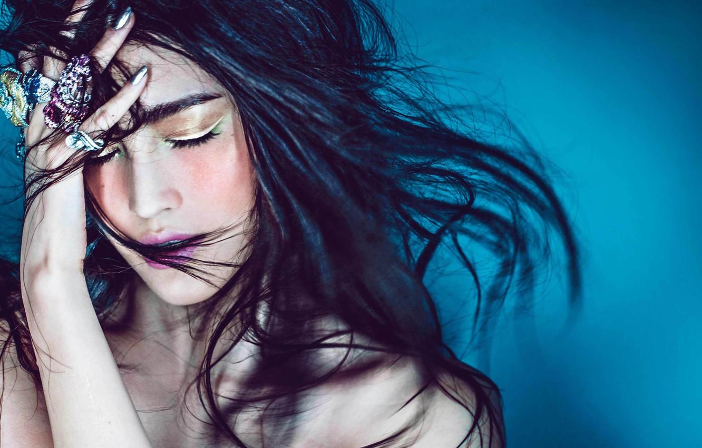 Фото обои Asian, model, Sui He, VICTORIA'S SECRET