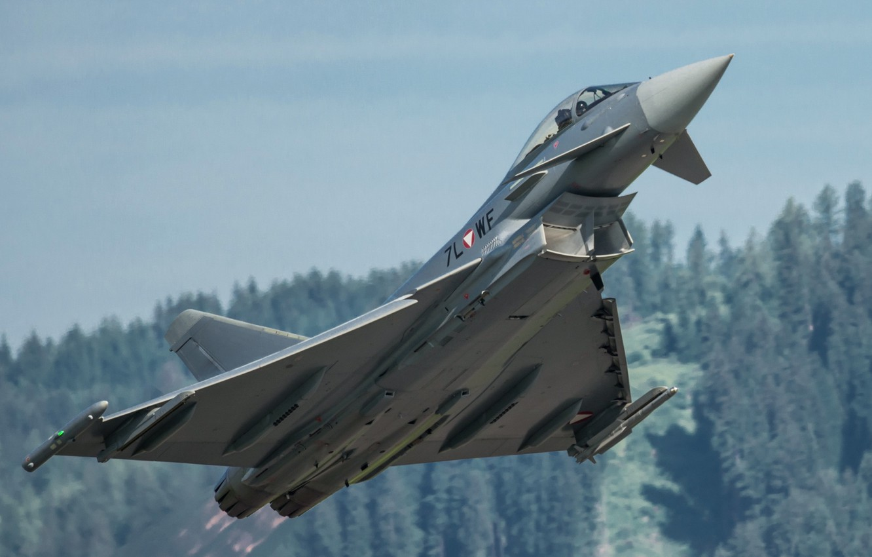 Обои самолеты, Eurofighter typhoon. Авиация foto 11