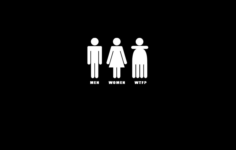 Фото обои фон, чёрный, wtf, men, women