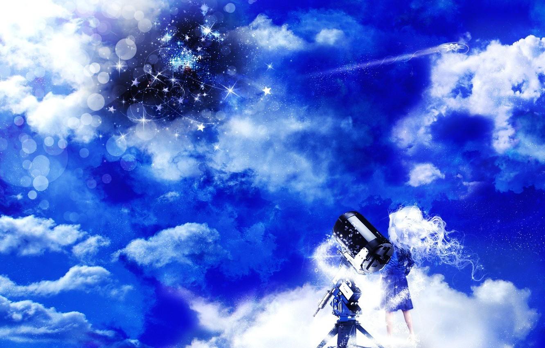 Фото обои мечта, облака, круги, новый мир, пузырьки, взгляд на вещи