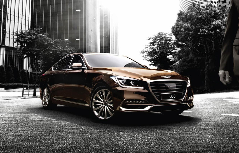 Фото обои Hyundai, Genesis, генезис, хундай