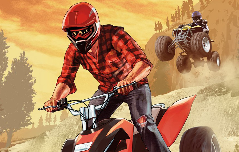 Фото обои спорт, квадроцикл, Grand Theft Auto V, Rockstar Games, GTA Online