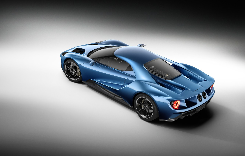 Фото обои Concept, Ford, Вид, Концепт, Форд, Сверху, 2017