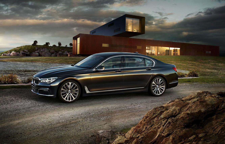 Фото обои бмв, BMW, седан, 7-Series, G12