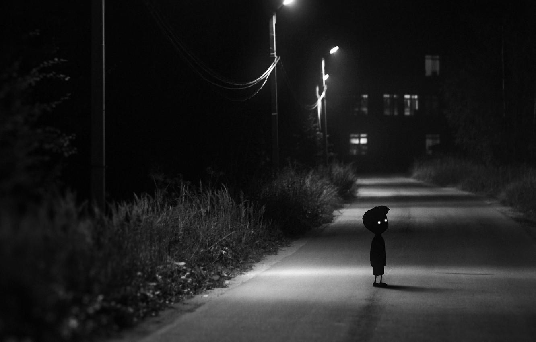 Фото обои Dark, Street, Limbo