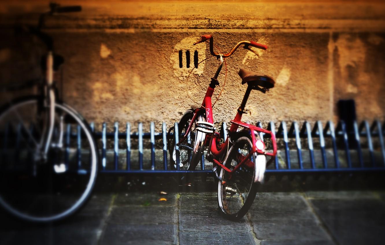Обои стоянка, велосипед. Разное foto 6
