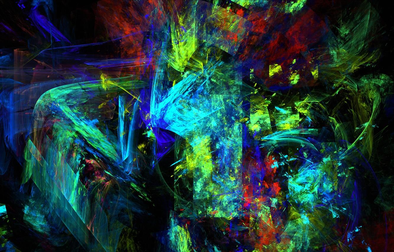 Обои узор, Цвет, хаос, свет. Абстракции foto 7