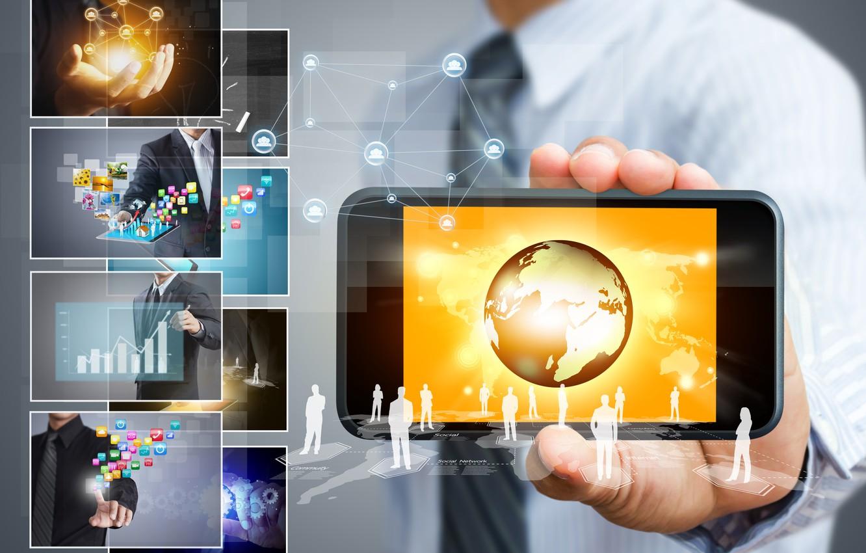 Обои смартфон, Интернет, социальные сети. HI-Tech foto 7