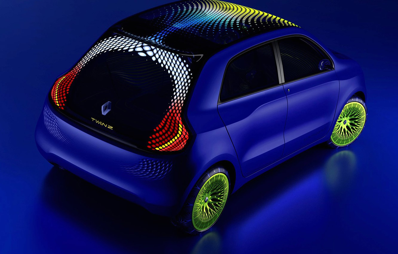Фото обои concept, Renault, TwinZ