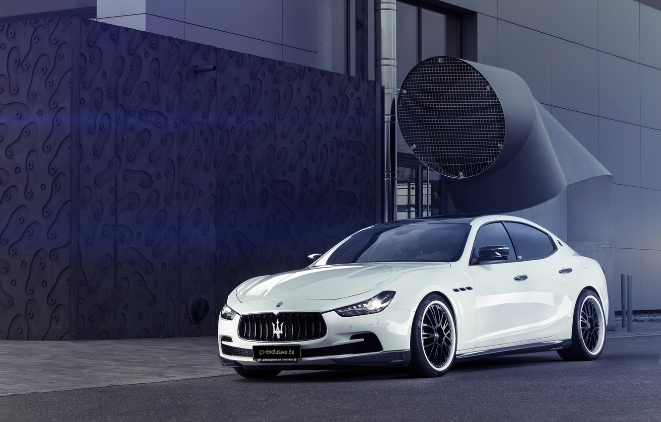 Фото обои car, evo, maserati ghibli, gs exclusive