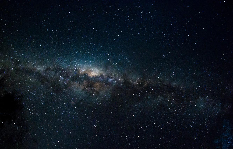 Фото обои звезды, пространство, тайна, Млечный Путь, бесконечность