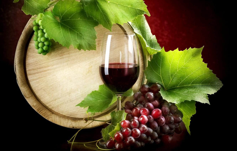 Обои красное, вино, бутылка, виноград, лоза. Разное foto 10