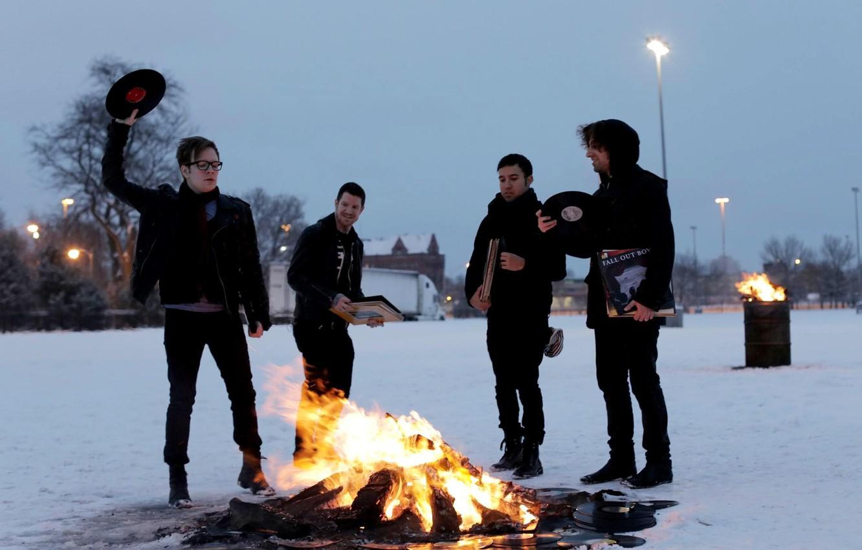 Фото обои группа, rock, рок, Patrick Stump, Fall out boy, Andrew John Hurley, Peter Wentz, Joseph Mark …