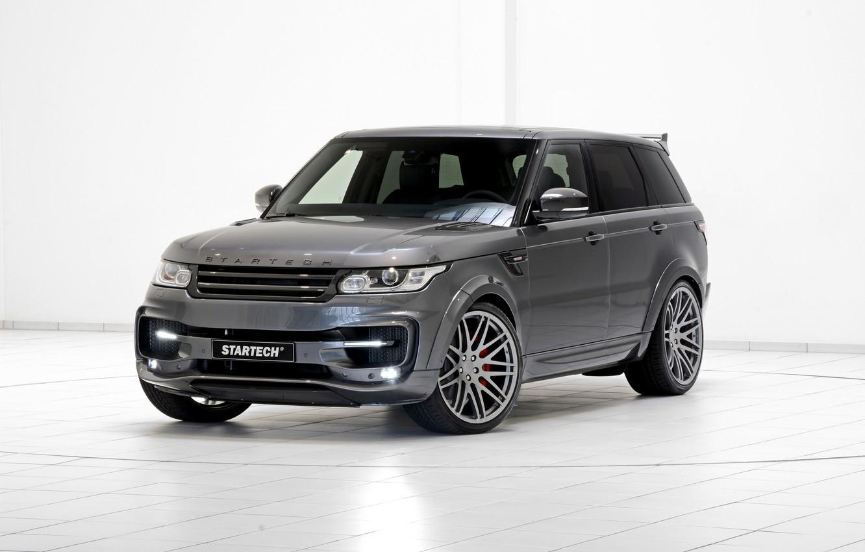Фото обои спорт, Land Rover, Range Rover, Sport, ленд ровер, рендж ровер, 2013, Startech
