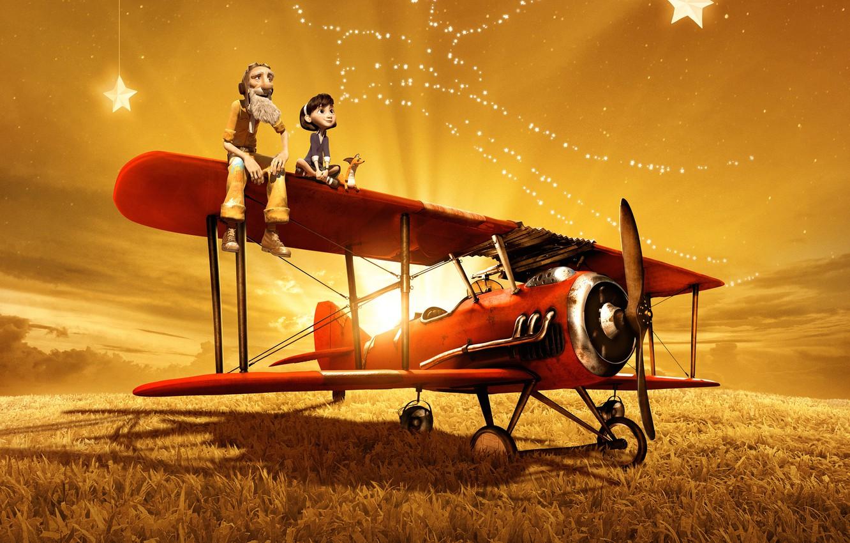 Обои aircraft, fields, sky. Абстракции foto 19