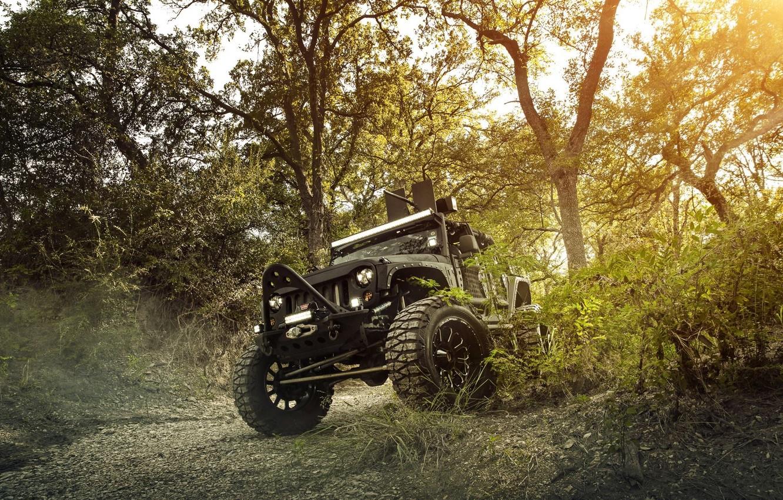 Фото обои Nature, Cars, Wrangler, Jeep, Off Road, FullMetalGunner