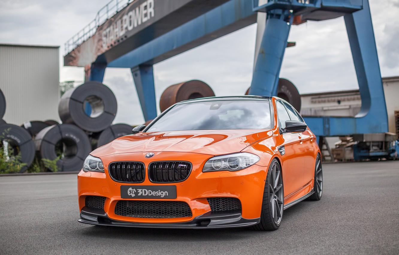 Фото обои car, авто, фары, бмв, BMW, решетка, tuning, передок, ноздри, 3D Design
