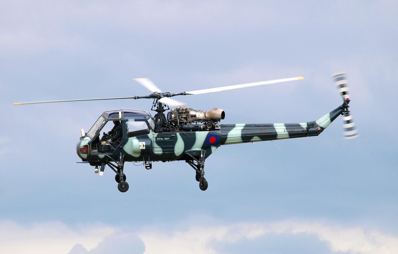 Фото обои вертолёт, военный, британский, многоцелевой, Westland Scout