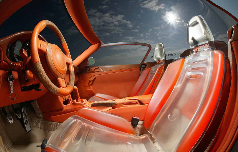 Фото обои дизайн, интерьер, руль, салон, автомобили, сиденье, Rinspeed zaZen