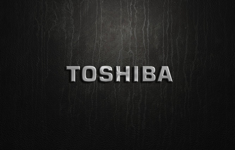 Фото обои silver, logo, toshiva