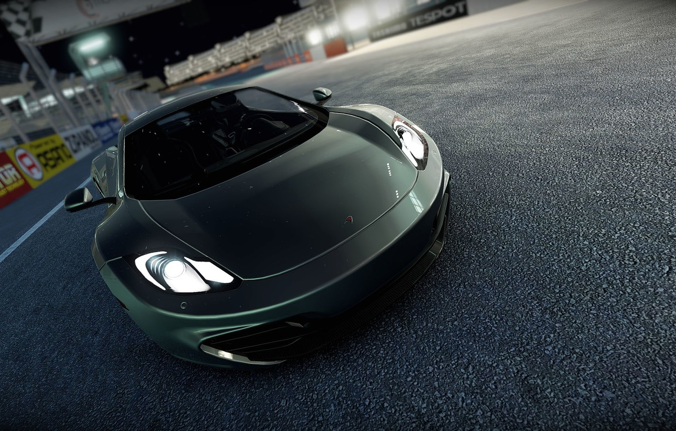 Фото обои игра, McLaren, game, cars, MP4-12C, Project, Project CARS, 2015, Slightly Mad Studios, Community Assisted Race …