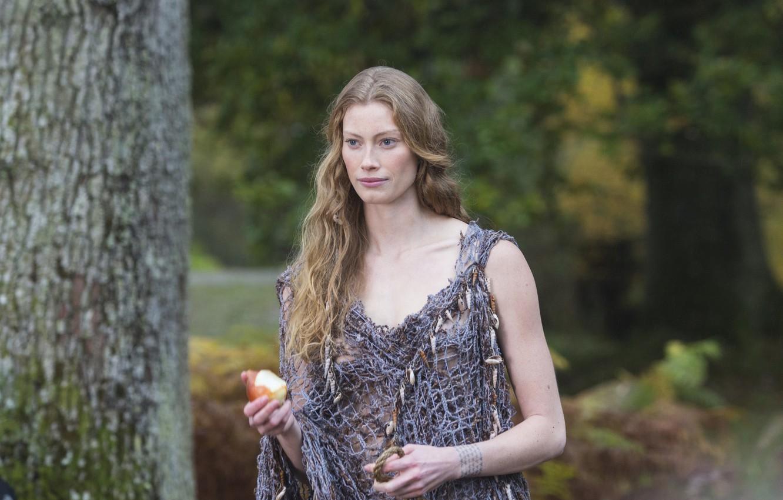Фото обои сериал, принцесса, исторический, Vikings, Викинги, Alyssa Sutherland, Aslaug