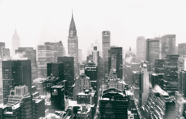 Обои Nyc, manhattan, new york, winter. Города foto 8