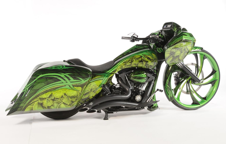 Фото обои дизайн, стиль, фон, мотоцикл, форма, аэрография, байк