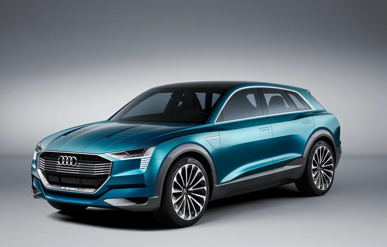 Фото обои Audi, ауди, concept, концепт, e-tron, quattro, 2015