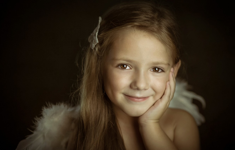 Обои улыбка, портрет, Девочка. Разное foto 8