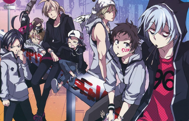 Фото обои аниме, парни, слуга вампир, Servamp