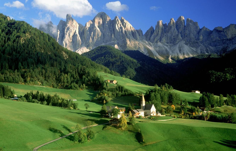 Обои альпы, Пейзаж. Минимализм foto 6