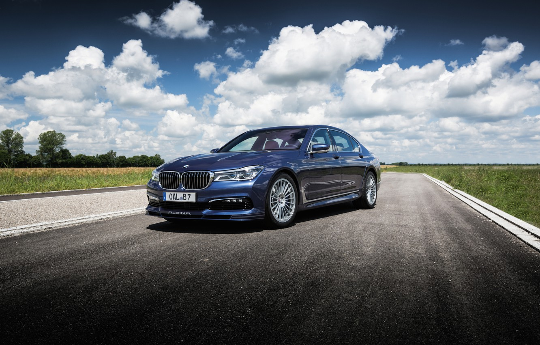 Фото обои бмв, BMW, седан, 7-Series, Alpina, G12